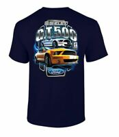 Ford Shelby G.T. 500 Car T-Shirt Adult Men's Short Sleeve