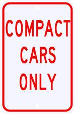 3M Reflective Compact Cars Only Parking Street Sign Dot Municipal Grade 12 x 18