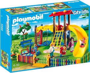 PLAYMOBIL City Life 5568 Kinderspielplatz Spielzeug Set, NEU