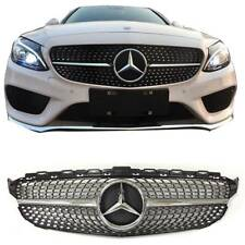 Diamond Radiator Grille W205 C63AMG Front for Mercedes Benz W205 2058881260