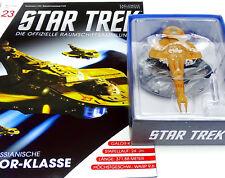 STAR TREK EAGLEMOSS STARSHIP COLLECTION CADRDASSIAN GALOR KLASSE AUSGABE #23