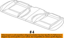 Dodge CHRYSLER OEM 2007 Magnum Rear Seat-Cushion Cover 1EK451DVAA