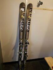 Salomon Scream Ski With Bindings Salomon Size 175 Cm