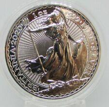 2020 1oz Silver Britannia 1 ounce Silver Bullion Coin Encapsulated...  Stunning