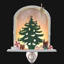 Roman Night Light - CHRISTMAS TREE w/ GIFTS - #RM-NL-C-165050