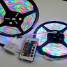 10M 2x5M 3528 Waterproof SMD RGB 600LED LED Light Strip Lamp 24Key IR Controller