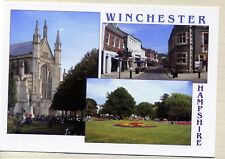 Winchester: 3 Mini views : The Cathedral; Market Square; Abbey Gardens