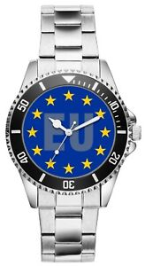 Europa Geschenk Fan Artikel Zubehör Fanartikel Uhr 2736