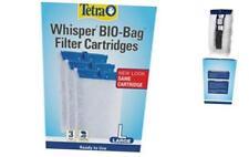 New listing Bio Bag Disposable Filter Cartridges Tetra Whisper Assembled for Aquarium Large