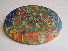 HAUNTED MANSION HOLIDAY NIGHTMARE BEFORE CHRISTMAS PIN TREE PROTYPE GOLD FINISH