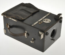 J. Garcin rare  black Wooden Detective Camera 9x12 ca.1890/1900 without plates
