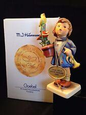 "Goebel M.I. Hummel ""CONGRATULATIONS"" #964 Hum 17 Final Issue 1999 w/box/Medal"
