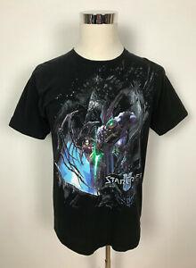 Vintage Blizzard Entertainment StarCraft 2 Mens Gamer T-Shirt Shirt Tee Size L