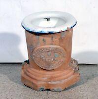 Cesso inodore sistema Luigi Mosca Napoli rarissimo gabinetto antico wc 1870 c01