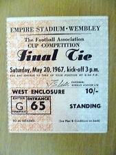 Tickets- 1967 FA Cup FINAL Chelsea v Tottenham Hotspur (Original, Exc*)