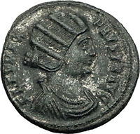 FAUSTA wife of Constantine I the Great 325AD Authentic Ancient Roman Coin i59179