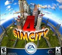 SimCity 4 Jewel Case (PC, 2009) with Code