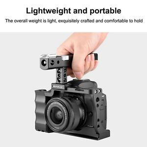 PULUZ Vlog Camera Video Cage Steadicam Housing For Canon EOS M50 Accessories