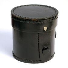 alter Leder-Objektivköcher schwarz * lens keeper * Köcher