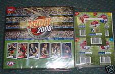 2008 Herald Sun Footy Cards Full set + Album AFL +Icons