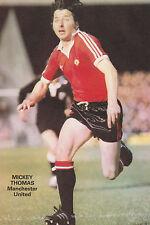 Football photo > Mickey Thomas Man Utd 1980-81