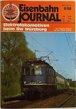 Eisenbahn Journal Locomotoras eléctricas en Bw Würzburg II/88 å