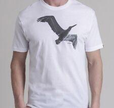 Nixon Fly Short Sleeve Tee T-Shirt (M) White S1653100-03