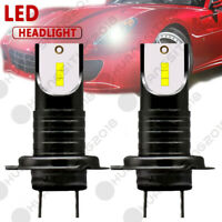 2 H7 110W 26000lm LED Headlight Conversion Kit High Low Beam Bulbs for Focus BMW