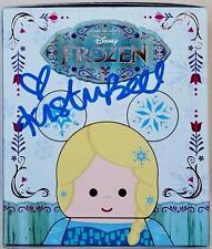 Kristen Bell Signed Disney's Frozen Voice Of Anna Vinyl Figurine Box PSA ITP