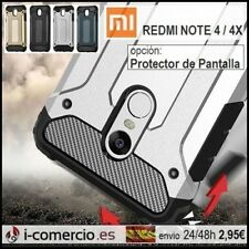 Funda Carcasa TPU+PC Hibrida Carbono Hybrid Tough Armor Xiaomi Redmi Note 4 / 4X