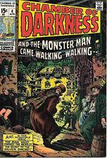 Chamber of Darkness Comic Book #4 Conan Proto, Marvel Comics 1970 VFN/NEAR MINT