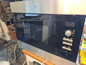 Aeg Integrated Microwave and grill micromat duo new magnatron glass plate