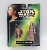 Star Wars Princess Leia And Wicket The Ewok Action Figures Kenner Collection
