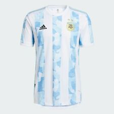 Argentina 2021 Copa America Home Soccer Jersey HEAT.RDY Adidas
