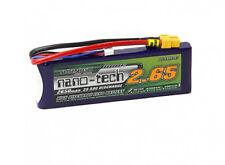Turnigy Nano-Tech 2650mAh 3S 11.1V 25C 50C LiPo Battery Pk XT60 FPV Multirotors