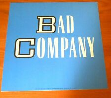 Bad Company Poster 2-Sided Flat Square 1986 Promo 12x12