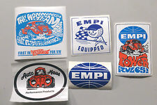 EMPI Autocollant Pack, T1, T2, VW Beetle, Camper, Beach Buggy