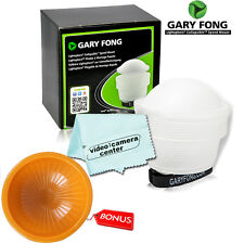 Gary Fong lightsphere (White) + Orange Cover For CANON 600EX-RT,90EX, 320EX