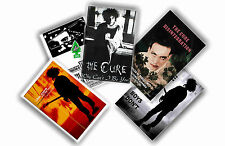 THE CURE - SET OF 5 A4 POSTERS # 1