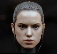 "1/6 Ray Daisy Ridley Woman Head Sculpt Model F 12"" Female Body Action Figure Toy"