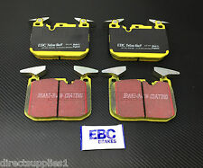 BMW M4 COUPE - CONVERTIBLE FRONT BRAKE PADS EBC YELLOW STUFF (MADE IN ENGLAND)