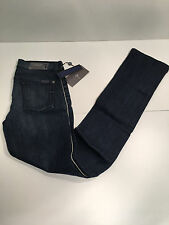 "Seven 7 for All Mankind WOMEN'S Jeans BLUE 26 x 34 STRAIGHT LEG CLASSIC"" *NEW *"