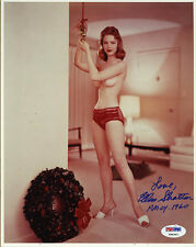 Ellen Stratton SIGNED 8x10 Photo +PMOY 1960 Playboy Playmate PSA/DNA AUTOGRAPHED