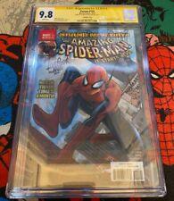 Venom 155 CGC 9.8 Signed by Mattina Amazing Spider Man 546 Lenticular Variant