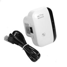300m WiFi Signal Booster Range Extender Adapter Fast Wireless Connection White