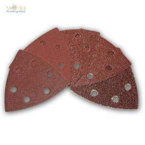 Paquetes Grandes Adhesivo Papel de Lija Hojas Lijadora Triangular Triángulo