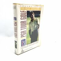PGA TOUR GOLF Course Strategy Volume 3 VHS Tape Vintage Clamshell