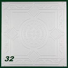 10 M2 pannelli di polistirolo PEZZO DECORATIVO PER SOFFITTO 50x50cm, N.32
