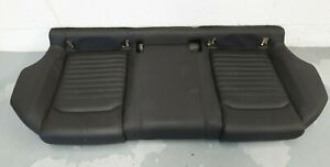 VW Passat Alltrack B8 3G Rear Seat Base Bench Black Leather PAT2