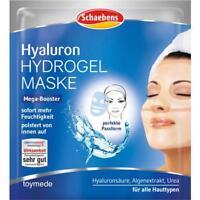 Schaebens Hyaluron HYDROGEL Gesichtsmaske mit Urea+Algenextrakt Gesichtspflege